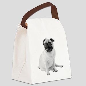 The Shady Pug Canvas Lunch Bag