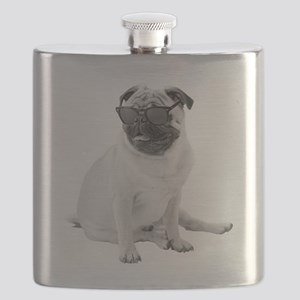 The Shady Pug Flask
