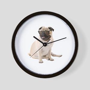 The Shady Pug Wall Clock