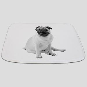 The Shady Pug Bathmat