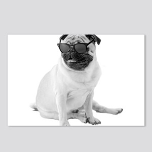 The Shady Pug Postcards (Package of 8)