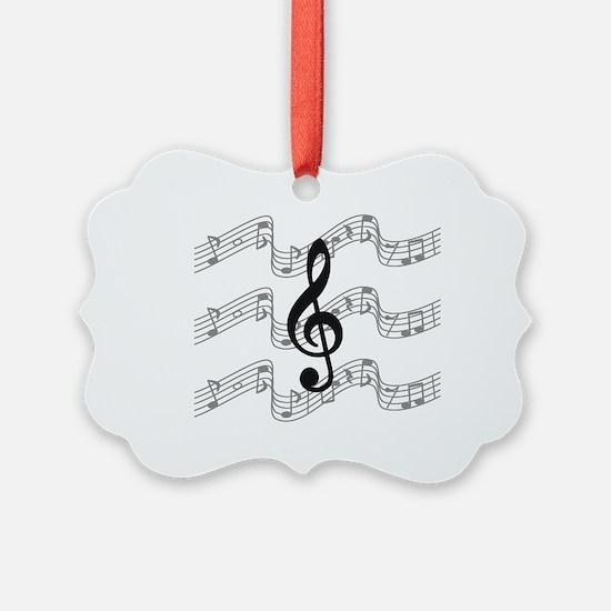 Funny Musician Ornament