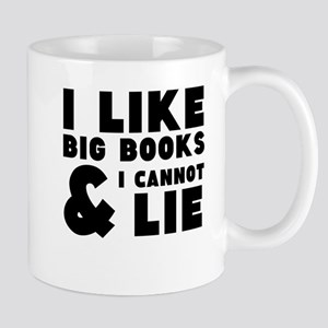 I like big book and I cannot lie Mugs
