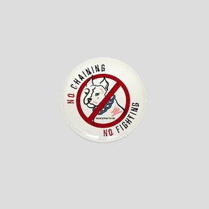 No Chains No Fights Mini Button
