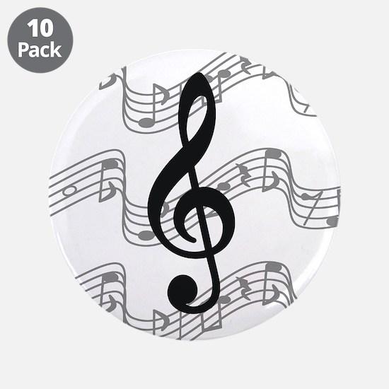 """Unique Musician 3.5"""" Button (10 pack)"""