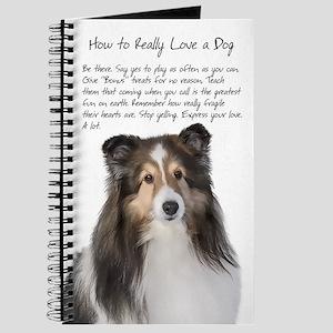 Real Love Sheltie Journal