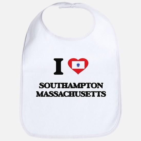 I love Southampton Massachusetts Bib