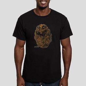 Boykin Spaniel Men's Fitted T-Shirt (dark)