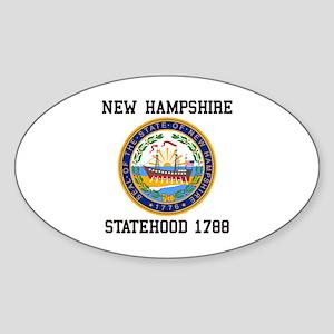 New Hampshire Statehood Sticker