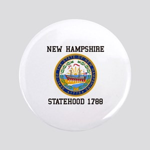 New Hampshire Statehood Button