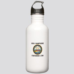 New Hampshire Statehood Water Bottle