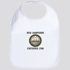 New Hampshire Statehood Bib