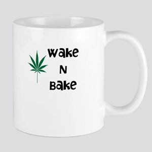 Wake N Bake Marijuana Mug Mugs