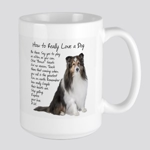 Really Love a Sheltie Mugs