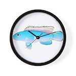 Blue Congo Cichlid Wall Clock