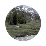 Lamoille Canyon Stream Ornament (Round)