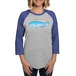 Blue Congo Cichlid Long Sleeve T-Shirt