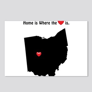 OHIO Home is Where the He Postcards (Package of 8)
