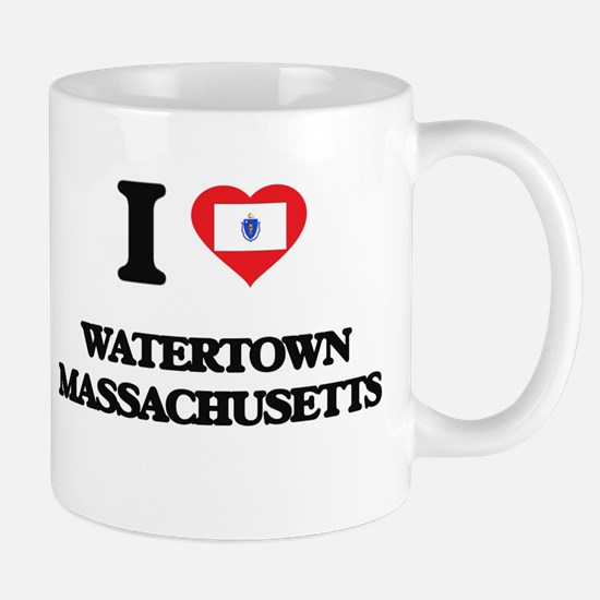 I love Watertown Massachusetts Mugs