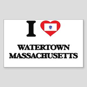 I love Watertown Massachusetts Sticker