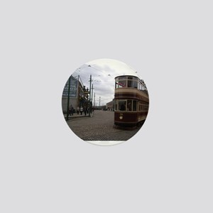 Beamish Tram Mini Button