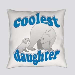 Coolest Daughter Everyday Pillow