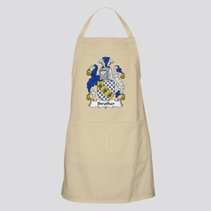 Strother Family Crest BBQ Apron