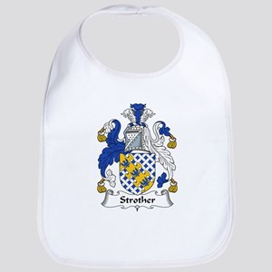 Strother Family Crest Bib