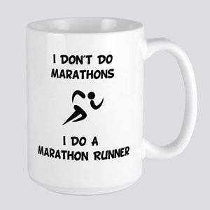 Do A Marathon Runner Mugs