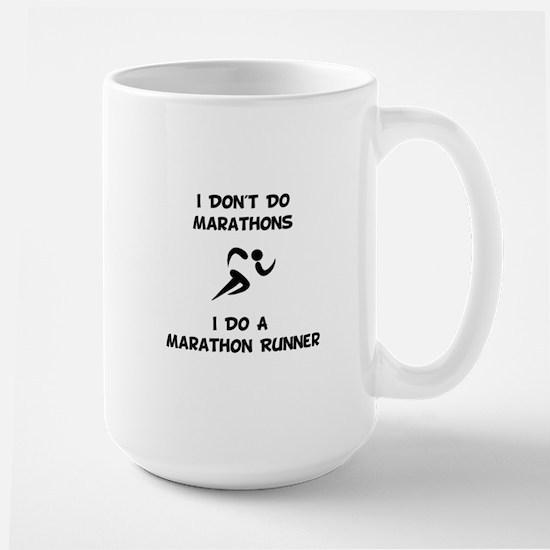 Do A Marathon Runner Mugs