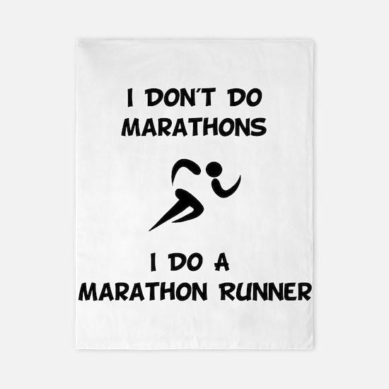 Do A Marathon Runner Twin Duvet