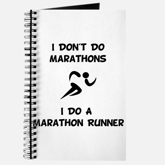 Do A Marathon Runner Journal