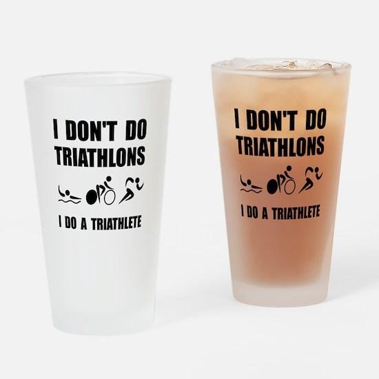 Do A Triathlete Drinking Glass