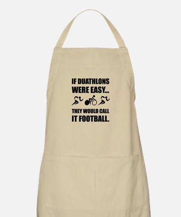 Duathlon Football Apron