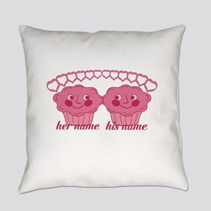 Personalized Cuddle Muffins Everyday Pillow