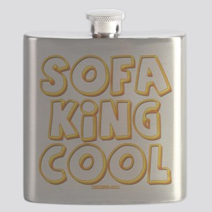SofaKingCool 10x10 DARK Flask