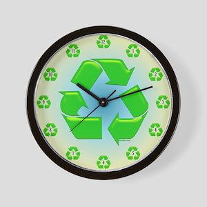 TeamRecycle WallClock Wall Clock