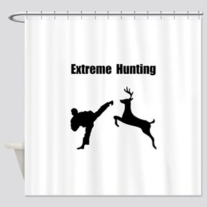Extreme Hunting Shower Curtain