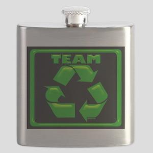 TeamRecycle Mousepad Flask