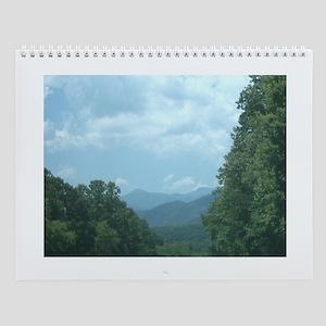 Mountain morning, nettie, karrcass Wall Calendar