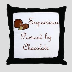 Supervisor Throw Pillow
