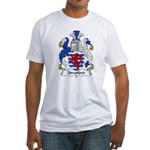 Stratford Family Crest Fitted T-Shirt