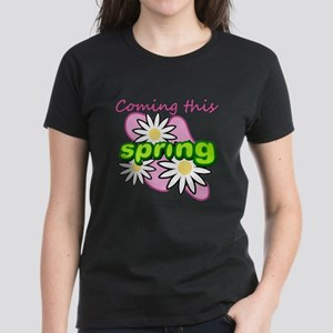 Coming this spring 2 Women's Dark T-Shirt
