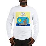 Fishbowl Outhouse Aerator Long Sleeve T-Shirt