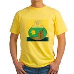 Fishbowl Outhouse Aerator Yellow T-Shirt