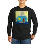 Fishbowl Outhouse Aerator Long Sleeve Dark T-Shirt