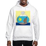 Fishbowl Outhouse Aerator Hooded Sweatshirt