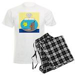Fishbowl Outhouse Aerator Men's Light Pajamas