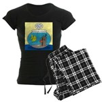Fishbowl Outhouse Aerator Women's Dark Pajamas
