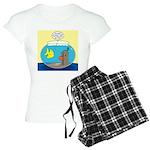 Fishbowl Outhouse Aerator Women's Light Pajamas